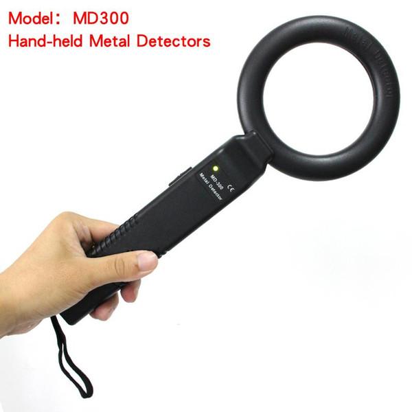 المعادن يده محمولة للكشف عن جولة حساسية عالية MD300 حقيقية باليد للكشف عن MD300 حساسية قابل للتعديل التنبيه الاهتزاز