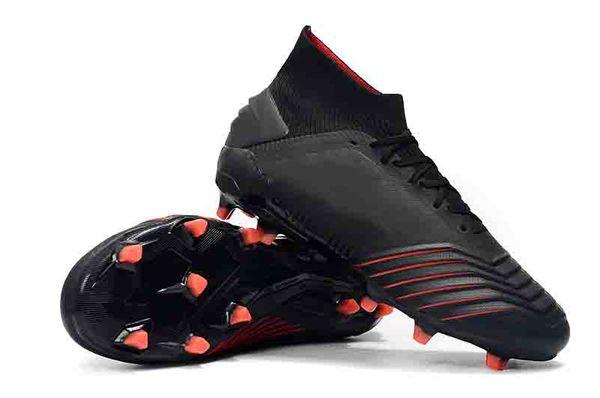 6c8ba3c2a New Mens High Ankle Football Boots Predator 19+ Firm Ground Archetic  BECKHAM Soccer Cleats Predator
