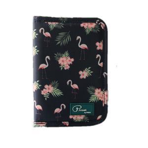 Flamingo Forest Passport Bag Kreditkarte Halten Taschen Reise Buiness Portable Passport Cover Handtasche Kleine Wasserdichte Passport Taschen K2918