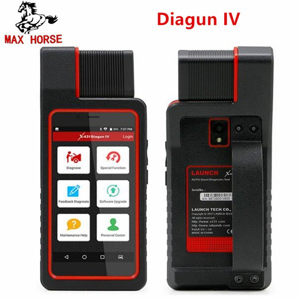 LAUNCH X431 Diagun IV Auto Full System Diagnostic Tool Support Bluetooth/Wifi with 2 Year Free Update pk X431 V/diagun iii tool