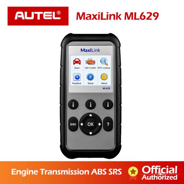 AUTEL MaxiLink ML629 Diagnostic Tool OBD2 Diagnostic Scanner Automotive Tools OBDII Auto Code Reader PK Launch creader CRP123