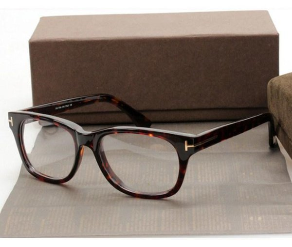 ClassicalTF5147 style Frame 51-17 высококачественные чистые планочные очки по рецепту с полной оправой оправы очков полный комплект чехол оптом бесплатная доставка