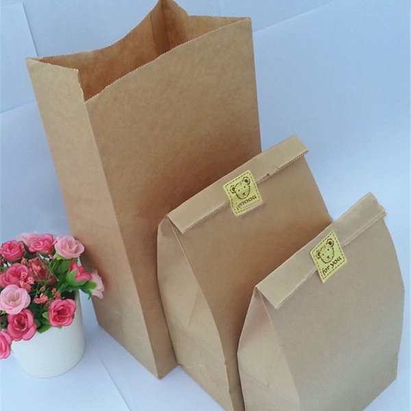 10 Pcs Kraft Paper Bags Wedding Party Favor Treat Candy Buffet Bag/Envelope Gift Wrap C18112701