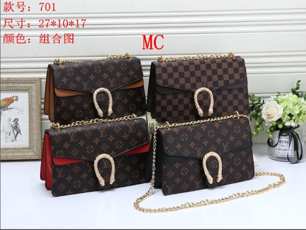 2019 Korean Version Of The New Fashion Leather Ladies Shoulder Bag Leather Portable Messenger Bag