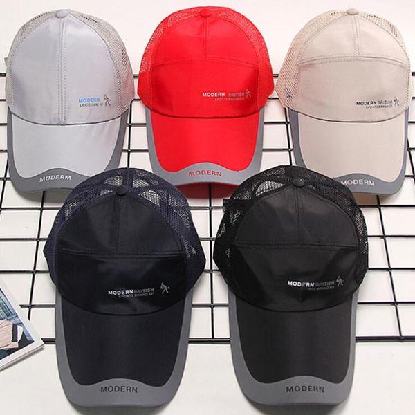 b04cd62111dcca Baseball Caps Men Women's cap male Snapback Bucket Hat dad hat Summer  Breathable Mesh Gorras Unisex