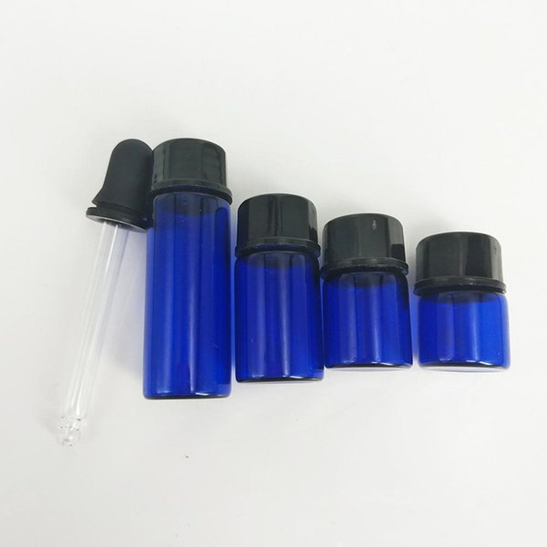1ml 2ml 3ml 5ml Parfüm ätherisches Öl Flaschen Milchglas Tropfflasche Gläser Vials mit Pipette für Kosmetik