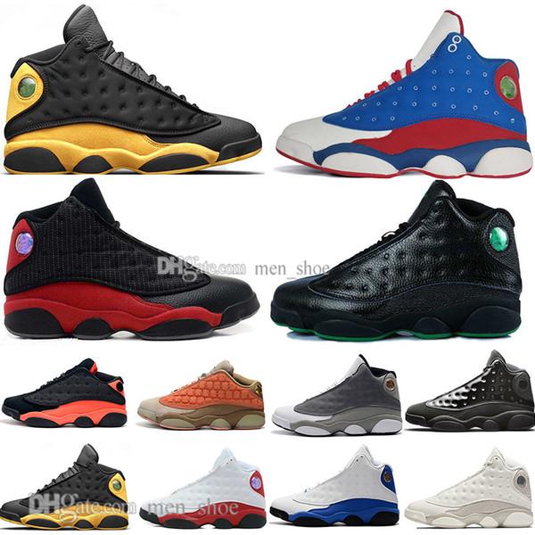 En existencia 13 13s Gorra y bata Terracotta Blush para hombre Zapatillas de baloncesto Chicago Negro Infrarrojo Trigo Bred Hombre Zapatillas deportivas Diseñadores