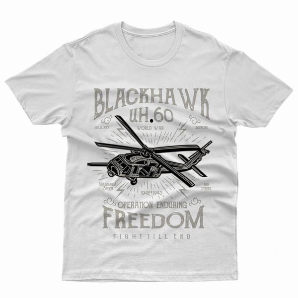 camiseta Blackhawk aeronautica militar libertad vuelo MOTOREShoodie camiseta  de hip hop e5ec5dffb4c