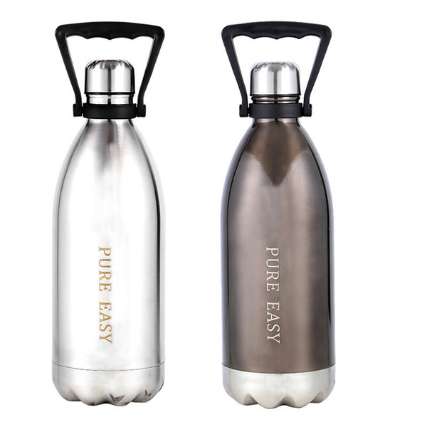 1500ml Big Thermal Insulation Water Bottle Creative Brand Design Stainless Steel Bpa Free Healthy Vacuum Thermos Cola Bottle T8190627
