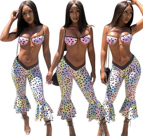 Sexy Ruffer femmes Skinny Costumes Costumes Casual Beach Fashion Imprimé Vêtements d'été Polka Dot