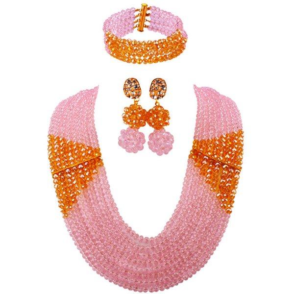 Metal color:Pink Gold AB