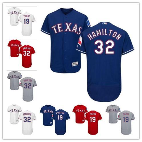 reputable site 8bbf4 7a0ff 2019 Custom Texas Men'S Women Youth Majestic Rangers Jersey #32 Josh  Hamilton 19 Jurickson Profar Home Red Blue Baseball Jerseys From Gzf608,  $16.5 | ...