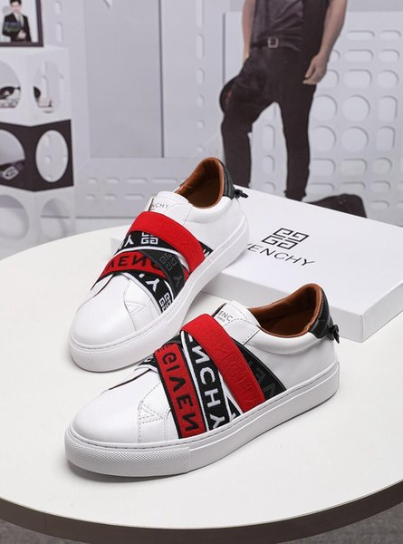 top popular 2019m new limited edition custom luxury men's casual shoes, men's trend striped gentleman fashion sports shoes, yards: 38-45 2019