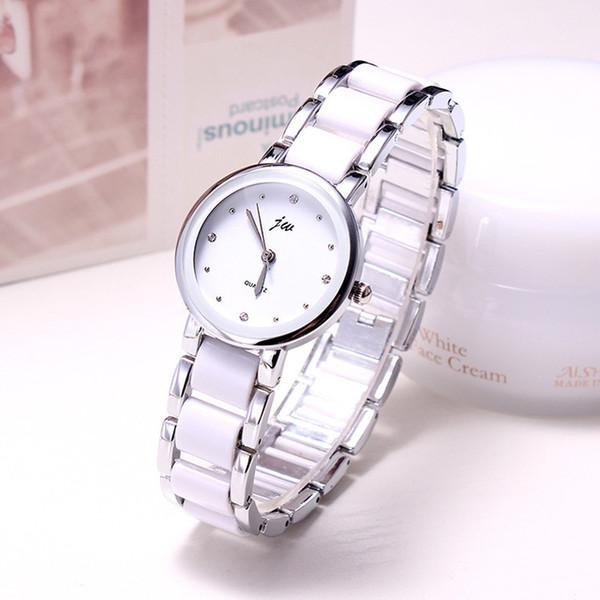 Керамические часы ремешок 2019 роскошные женские часы свободного покроя модные часы женские платья женщины кварцевые часы браслет наручные часы Relogio Feminino