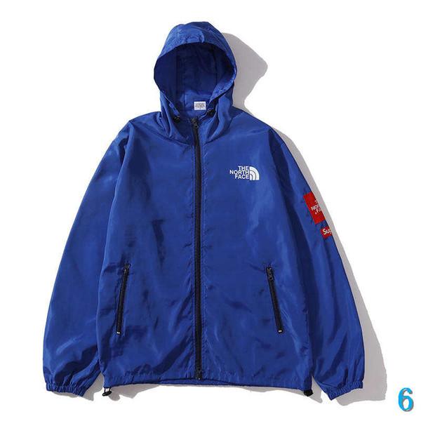 Designer Mens Jacket Brand New veste de manteau de luxe Manteau manches longues Streetwear Sport Designer Veste hommes et femmes Manteau Wholesale6