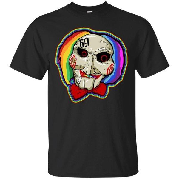 Tekashi 6ix9ine Jigsaw T-Shirt Funny Cartoon Rapper Rap Hip Hop Tee Top S-3XL Tondo stile divertente 100% cotone tshirt