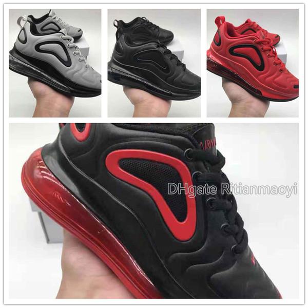 2019 New Fashion kids Zapatos casuales clásicos chicas rojo deportes al aire libre Zapatos Regalo del día de los niños EU28-35 chaussures de course Enfant