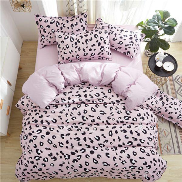 Leopard, rosa, lila