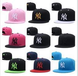 2019 Yeni erkek kadın Basketbol Snapback kemik Beyzbol Snapbacks marka NY Futbol Şapka Erkek Düz Kapaklar Ayarlanabilir Kap Spor Şapka mix sipariş