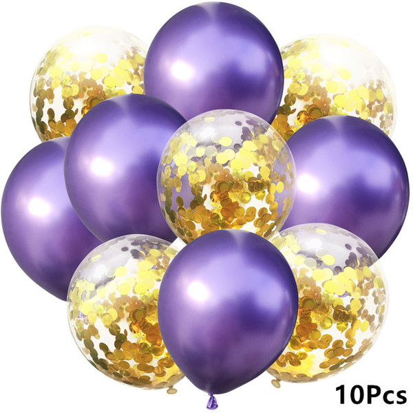 8- Metal Purple Gold