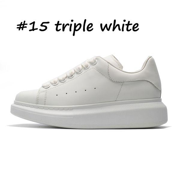 15 triple blanc
