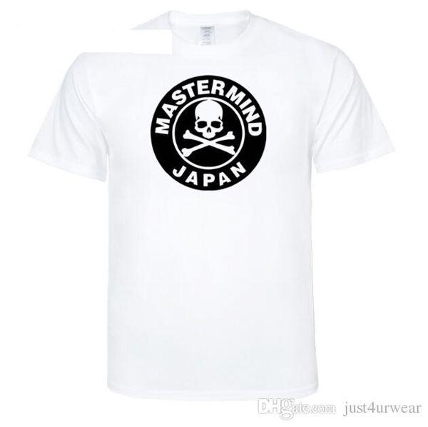 Mens Fashion T-shirt Mastermind esqueleto do crânio Design Japão Impressão Mulheres Casual múltipla cor camisetas Amantes de Verão O-Neck Tees Tops