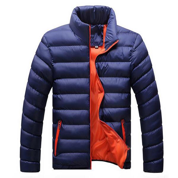 Winter Großhandel Warme M Männer Neue 4xl Marke Dünne Casual Herbst Outwear Windjacke Steppjacken Parka Herren Von Winterjacken Mäntel trQxBdhosC