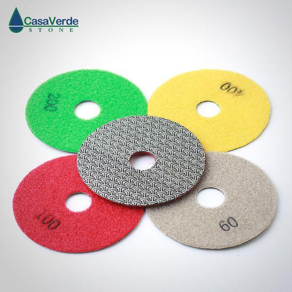 5/'/' Electorplated Diamond Polishing Pads Grit 30 Sanding Disc Grinding Abrasive