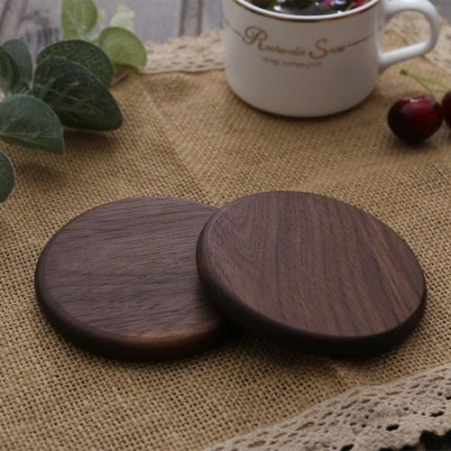 black walnut round thicken