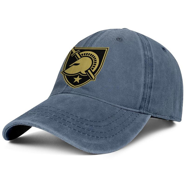 New York Army Black Knights football Gold man Sport Denim baseball hat cotton adjustable women's sun cap funky dad cap mesh hats