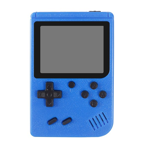 best selling Portable Handheld video Game Console Retro 8 bit Mini Game Players 400 Games 3 In 1 AV GAMES Gameboy Color LCD Kids Gift