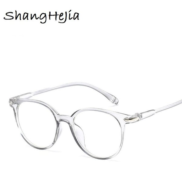 2018 Fashion Women Glasses Frame Men Eyeglasses Frame Vintage Round Clear Lens Glasses Optical Spectacle Frame