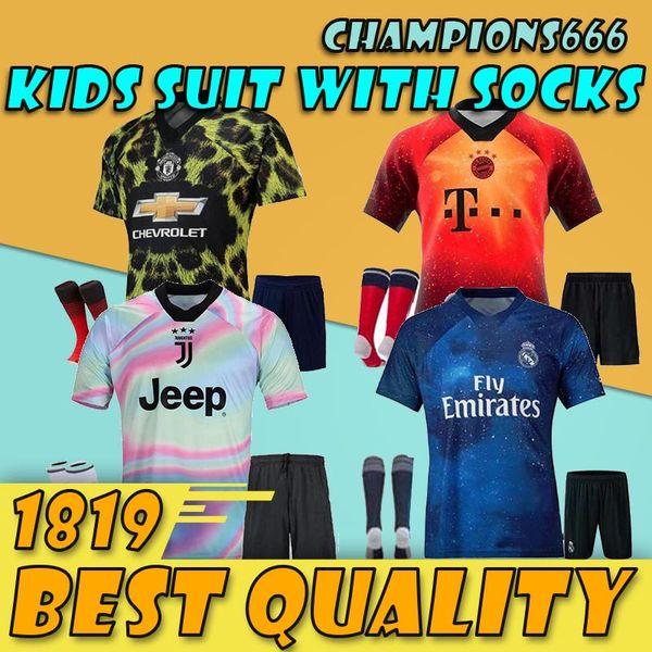 65cefe0e8 2019 20 EA Sports kids kit digital INSANE Bayern Munich Man united JUV REAL  MADRID child