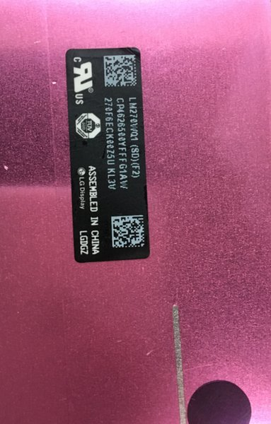 Free shipping to Australia Screen LM270WQ1 SD (F1)(F2) For IMac A1419 2K 2012 2013 MD095/096 ME088/089 661-7169 EMC:2546