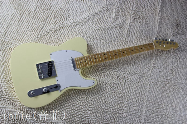 Free shipping ! TELE solid body Guitars Telecaster OEM Electric Guitar in stock