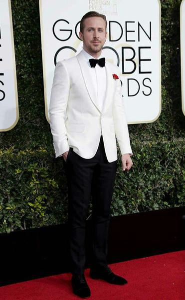 Ivory Men Suits Latest Coat Pants Designs Groom Wedding Tuxedos Formal Man Jacket Bridegroom Suits Man Blazer 2Piece Costume Homme Party