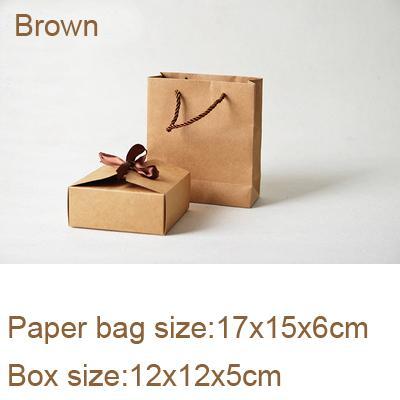 8x8x5cm 12x12x5cm Brown
