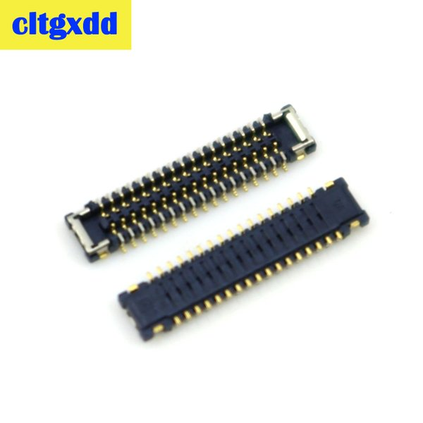 cltgxdd 2pcs LCD display screen FPC connector for Xiaomi Mi 4 M4 Mi4 logic on motherboard mainboard