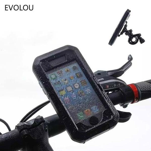 Bicicleta celular-soporte smartphone soporte con bolso bolso manillar funda protectora