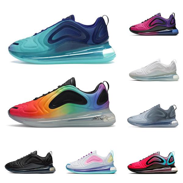 2019 New men women running shoes top quality triple black white be true VOLT Aqua Powder fashion mens trainer athletic sports sneakers