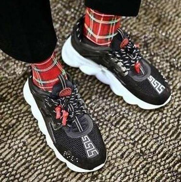 Reacción en cadena Amor Deporte Zapatos casuales Moda 039 zapatillas de deporte de diseñador Entrenador Ligero Enlace en relieve Suela con bolsa de polvo erte602