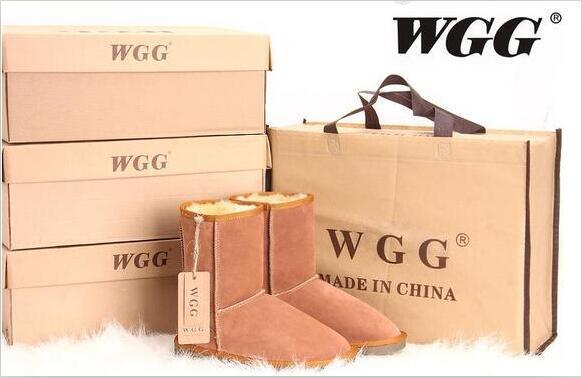 HOT Low price Classic WGG Brand Women popular Australia Genuine Leather Boots Fashion Women's Snow Boots US5--US10 Big size GAZELLE
