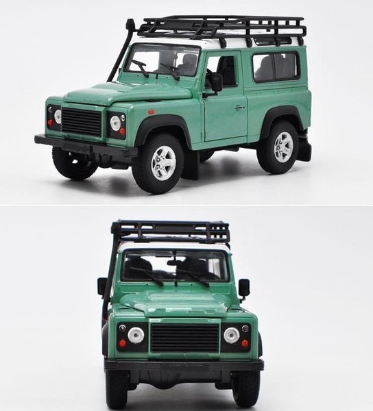 1:24 scale diecast metal model, Defender advanced alloy car toy,2 open doors toy vehicle,Precious collection model free shipping