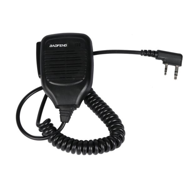 Original Handheld Baofeng Radio Speaker Mic Microphone PTT for Portable Two Way Radio Walkie Talkie UV-5R 888S UV-5RA UV-3R