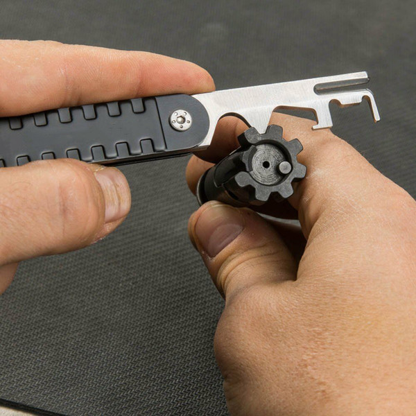 AR15 / M16 Rifle Scraper BCG Инструмент для удаления углерода .223 / 5.56 AVAR15S Пистолет AR-15 Комплект для чистки болтов
