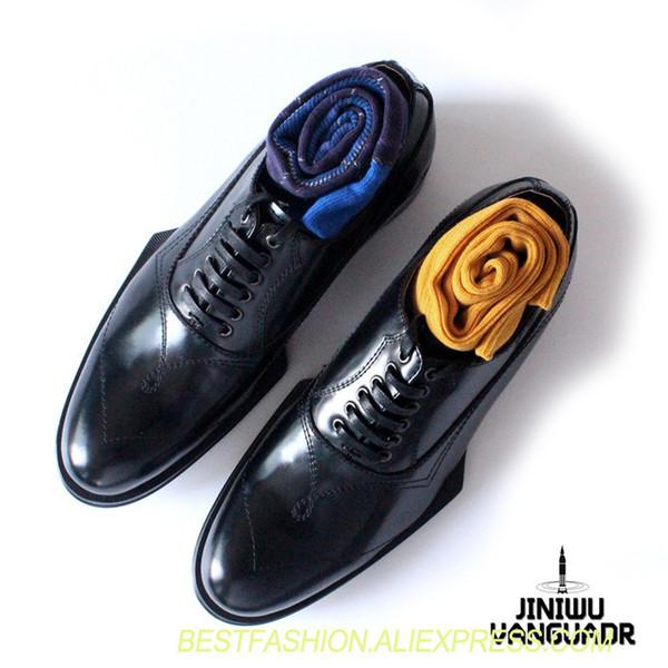 Classiche stringate nere per uomo scarpe da uomo retrò in vero cuoio scarpe da uomo oxford party scarpa di alta qualità