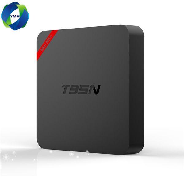 T95N Mini MX plus Android TV Box 1GB 8GB Quad Core Amlogic S905X UHD 4K Smart TV Box TV Miracast DLNA IPTV Media Player Set-top box MQ10