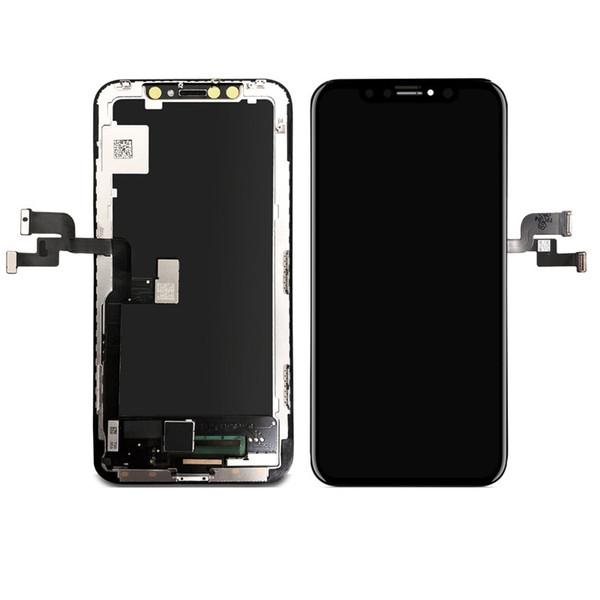 Digitalizzatore iPhone rimontaggio della visualizzazione LCD TFT LCD ad alta qualità per X XS XS XR MAX schermo NEWEST Digitizer