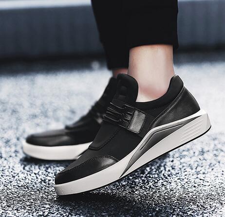 2019 nova moda calçados esportivos masculinos versão coreana da tendência de sapatos casuais sapatos masculinos bonitos