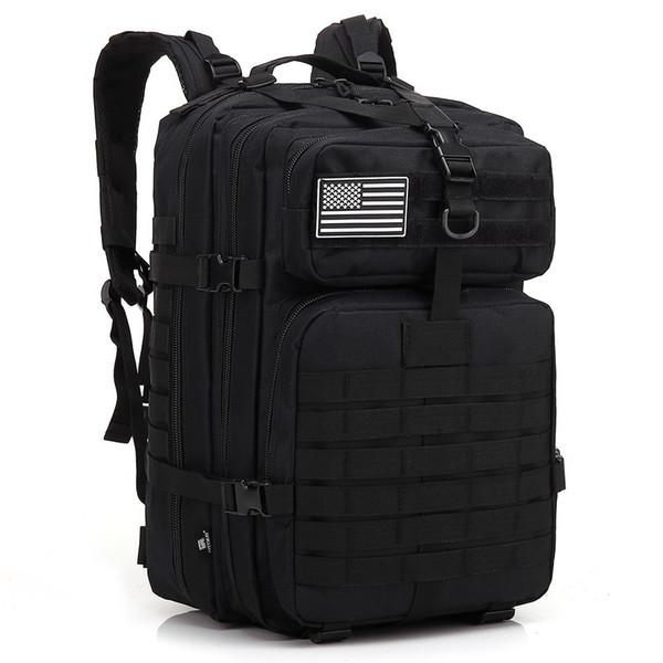 army backpacks tactical bag runcksacl packs 45L assault bags outdoor 3P EDC Molle Pack For trekking picnic jogging play camping hunting Bag